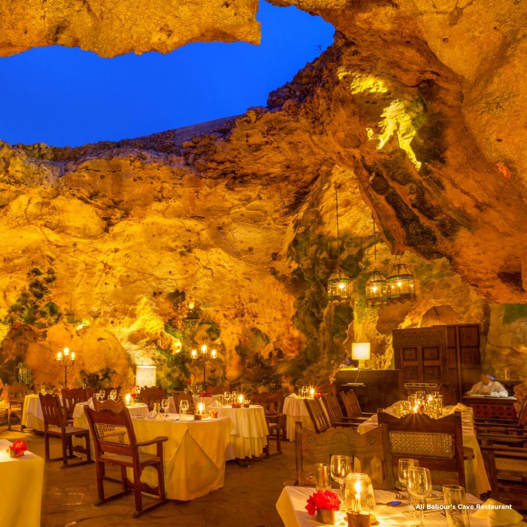 Ali Barbour Cave Restaurant