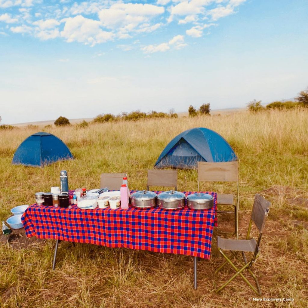 Mara Explorers Busch Camping