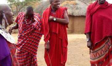 Masai Dorfbesuch