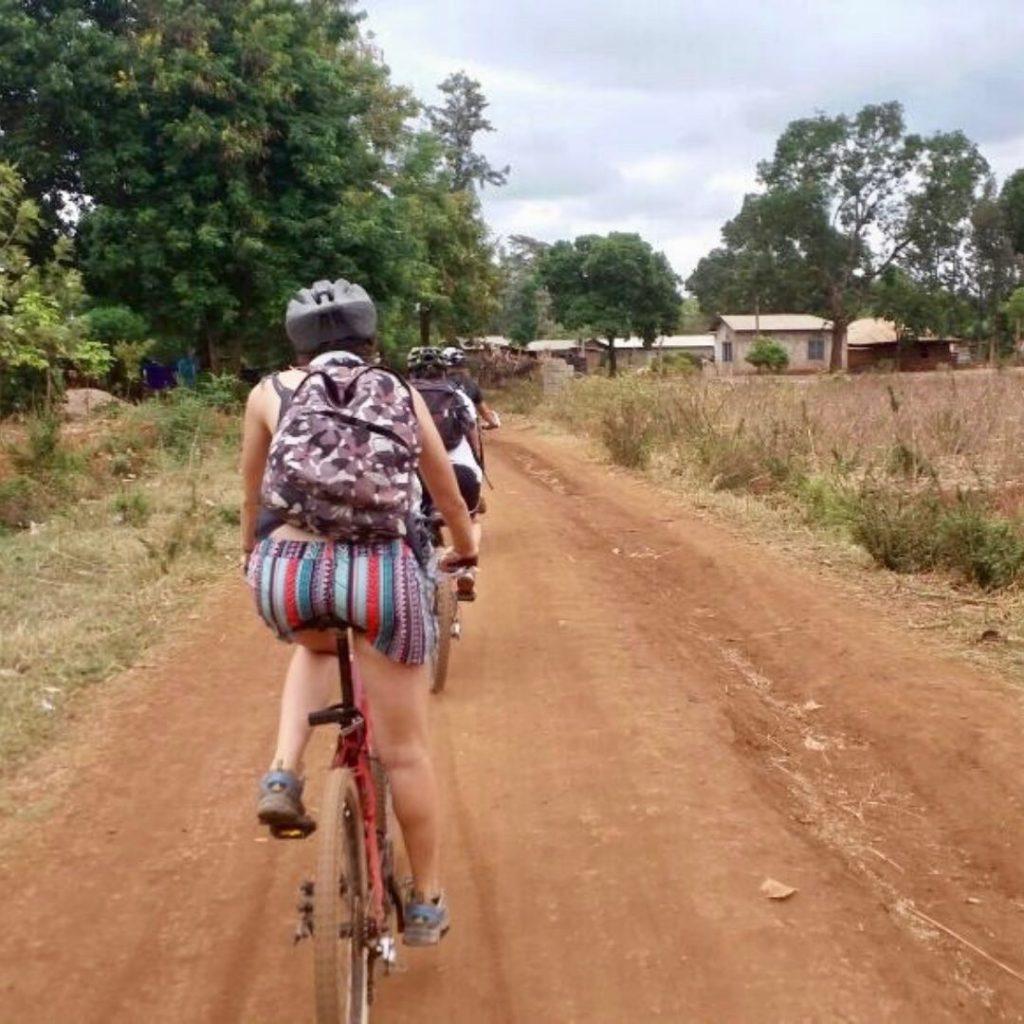 Moshi Fahrradtour