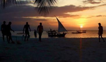 Abendstimmung in Nungwi auf Sansibar