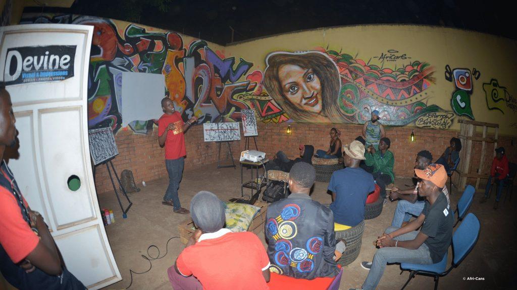 Africans Streetart