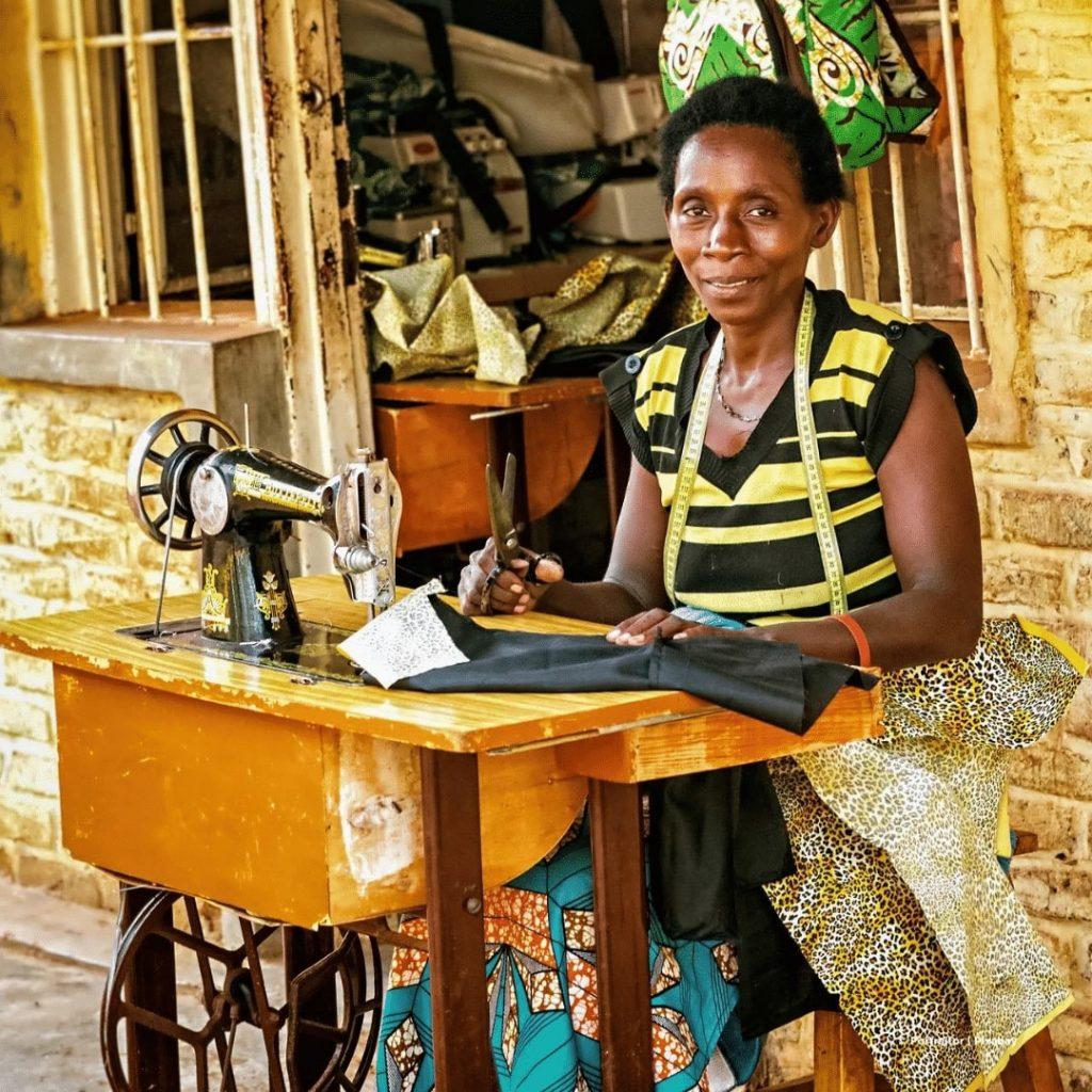 Schneiderin Ruanda