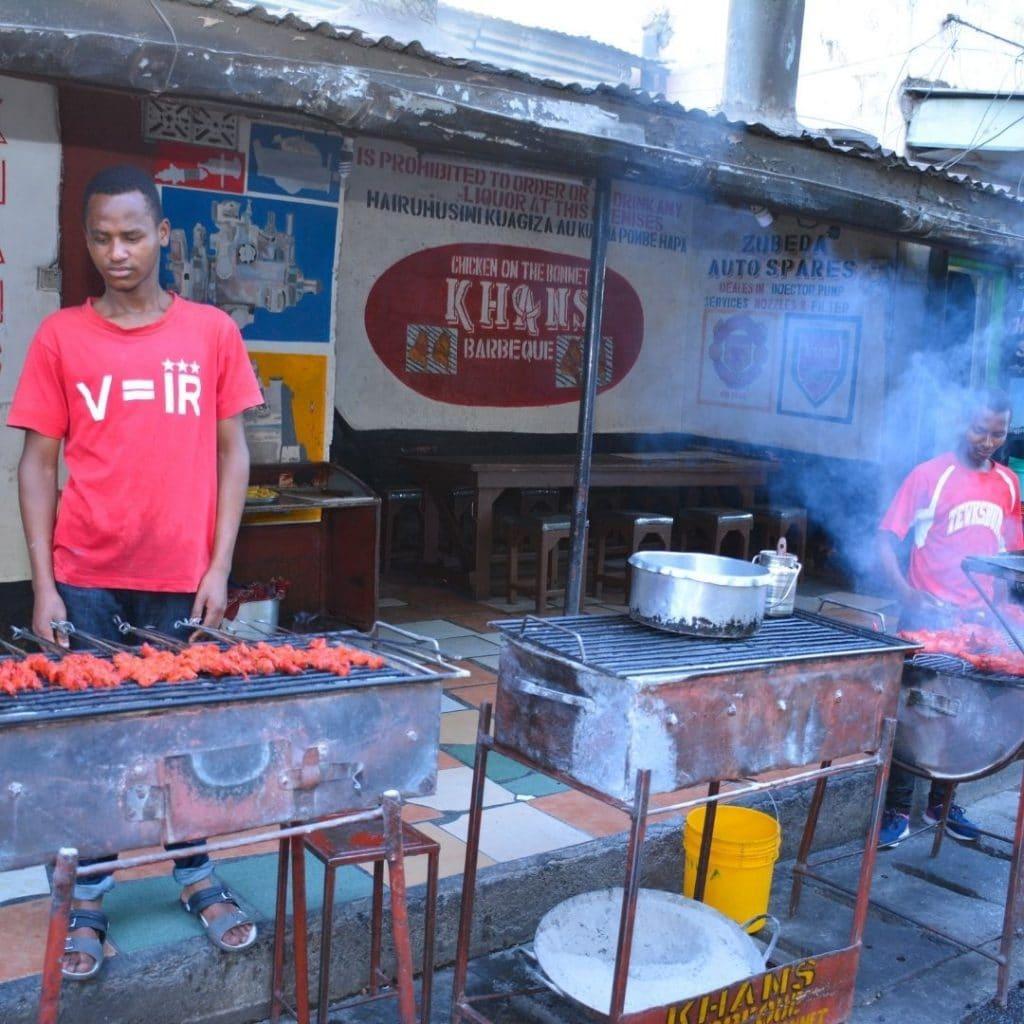 Khan's BBQ in Arusha