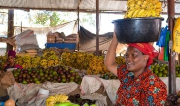 Kilombero Market in Arusha