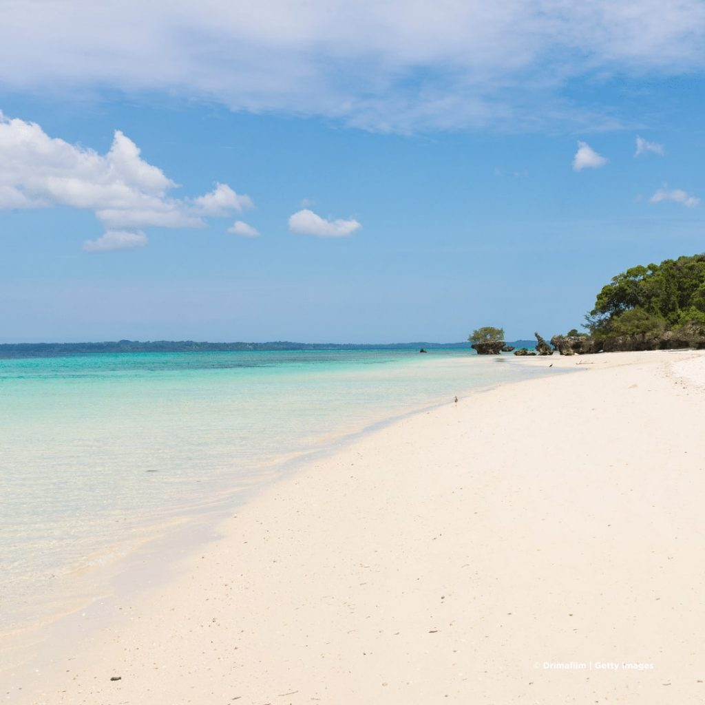 Pemba Island Strand