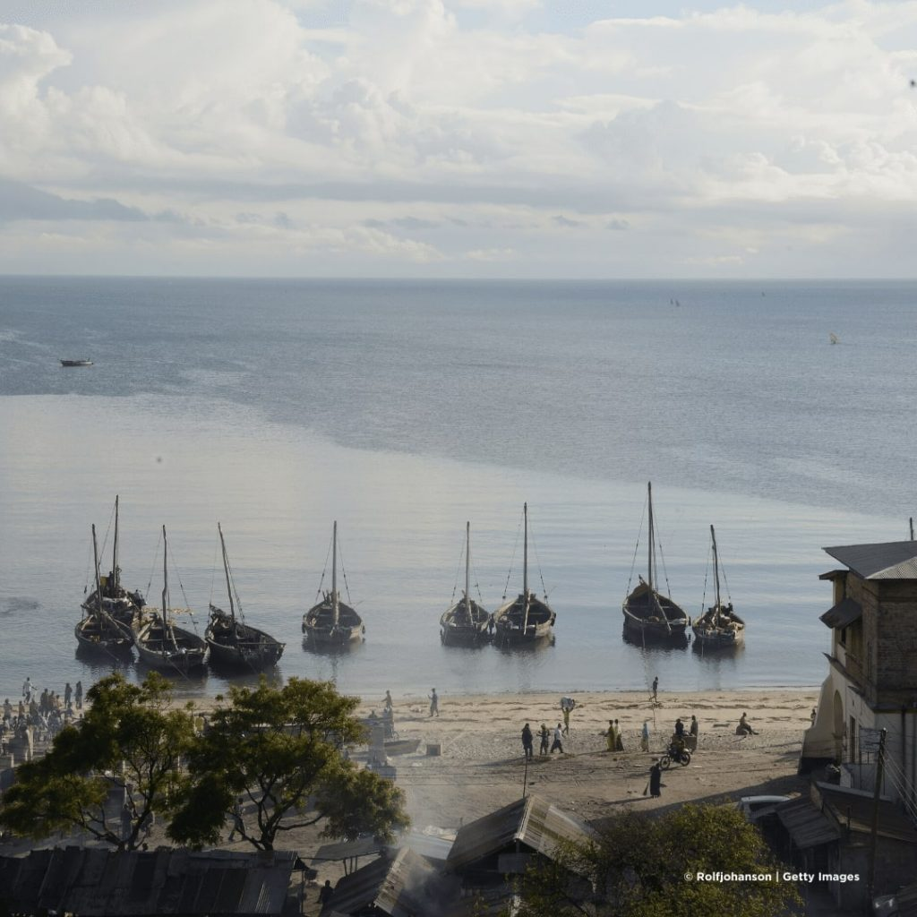 Bagamoyo Hafen