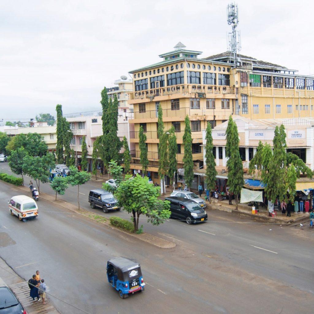Moshi Mawenzi Road