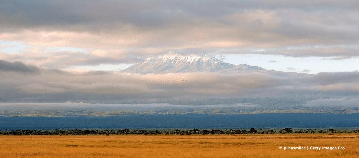 Amboseli Nationalpark Mt. Kilimanjaro