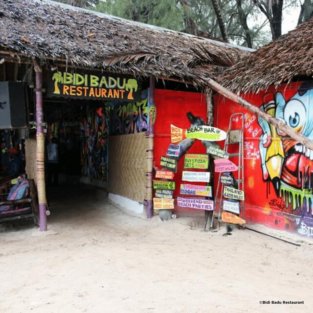 Diani Bidi Badu Restaurant