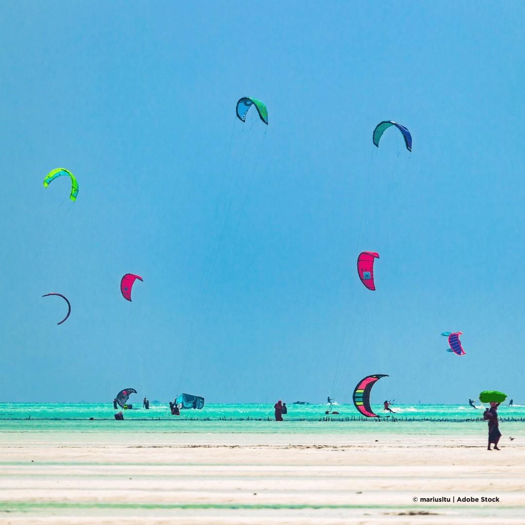 Jambiani Kitesurfing