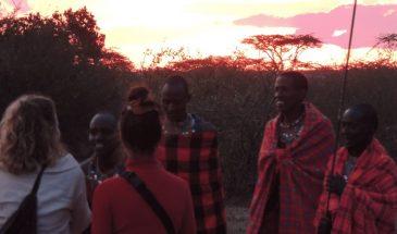 Masai Mara traditionelles BBQ