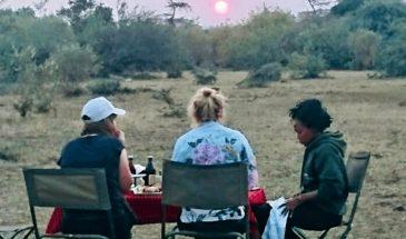 Masai Mara Sonnenuntergangsdrinks