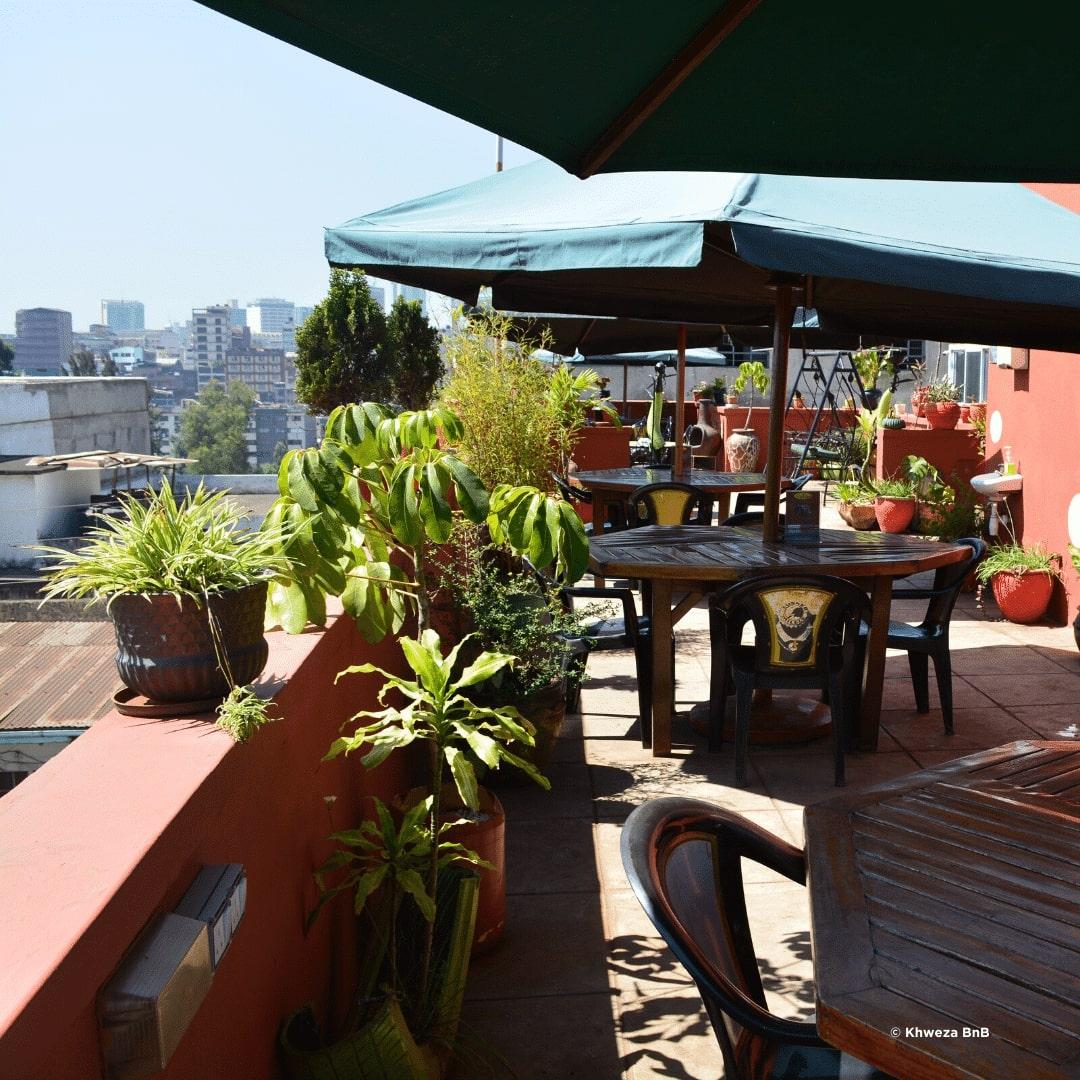 Nairobi Khweza BnB Rooftop