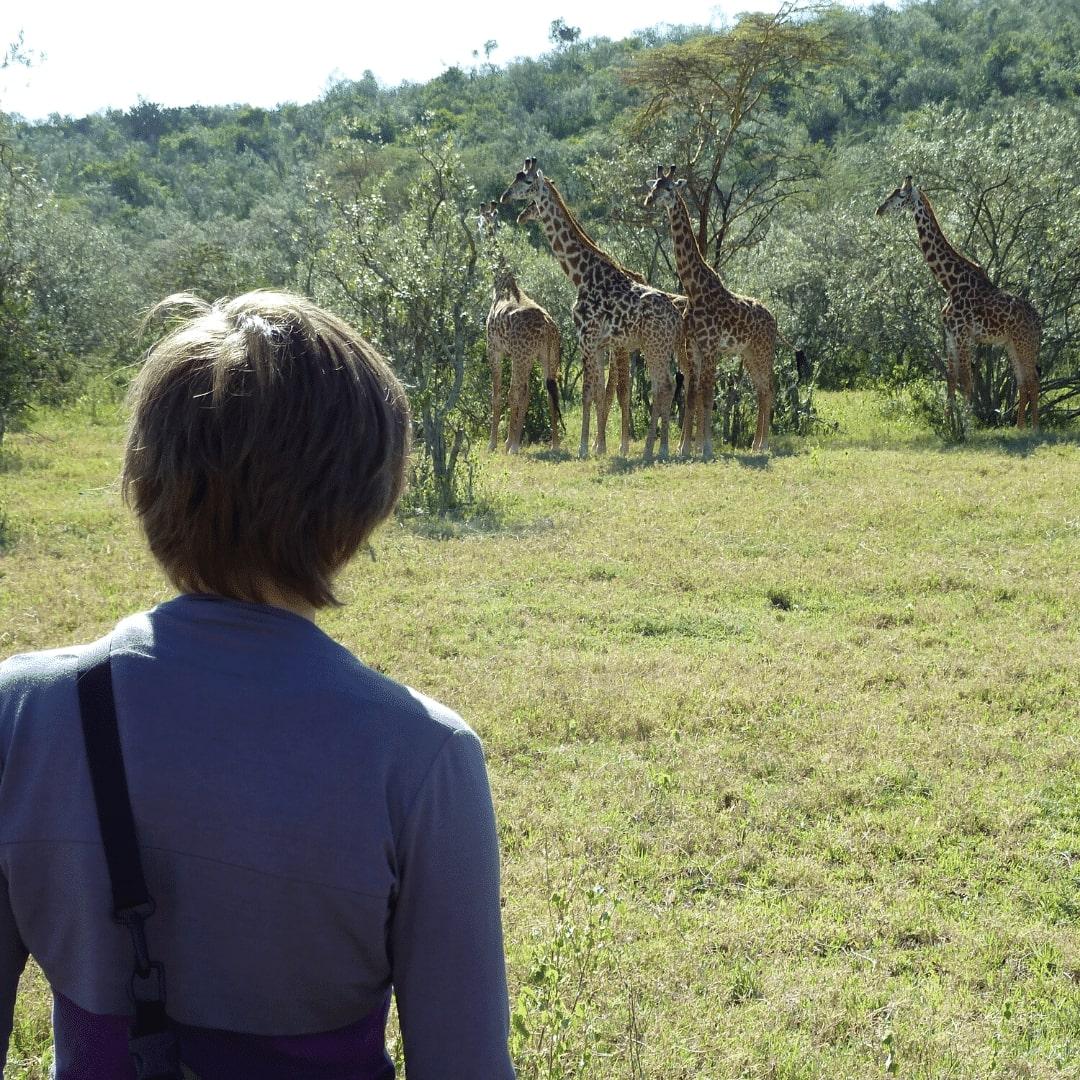 Lake Naivasha zu Fuß Safari