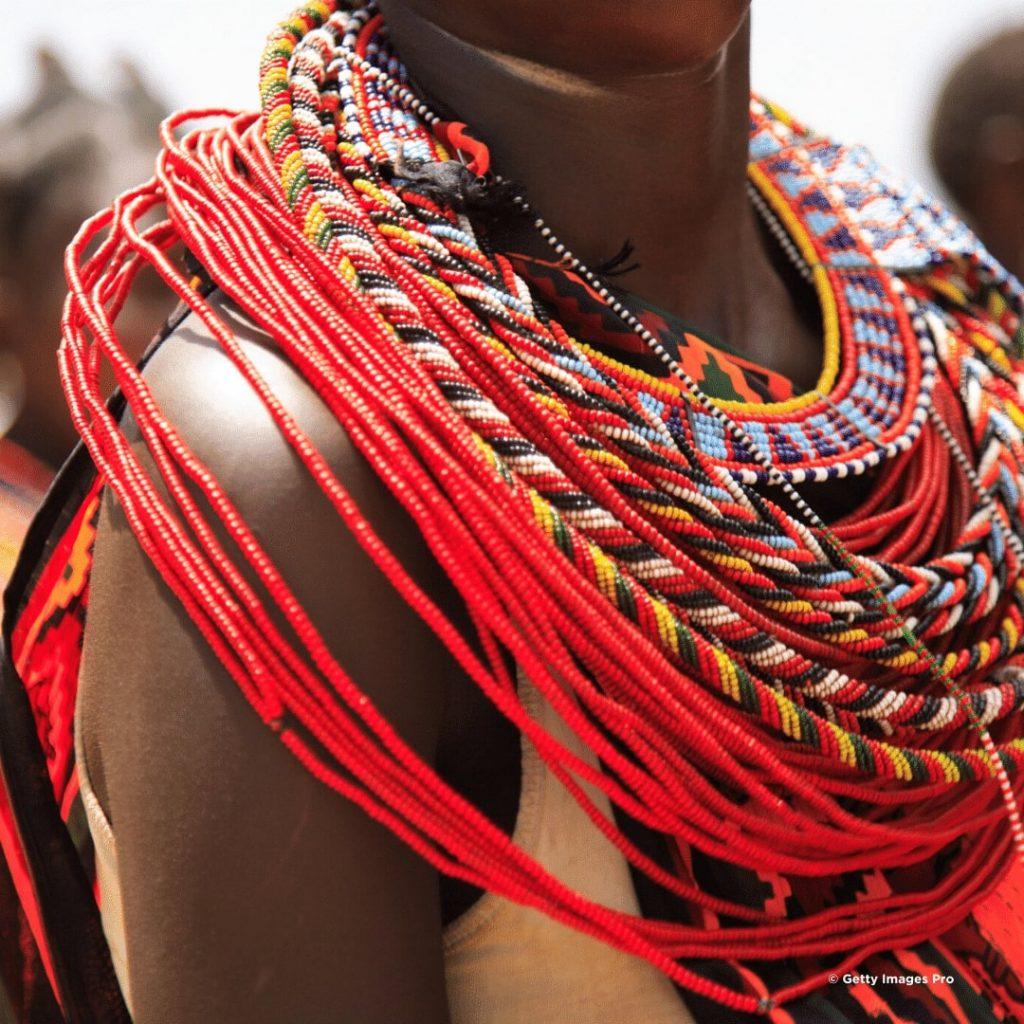 Samburu Stamm Schmuck