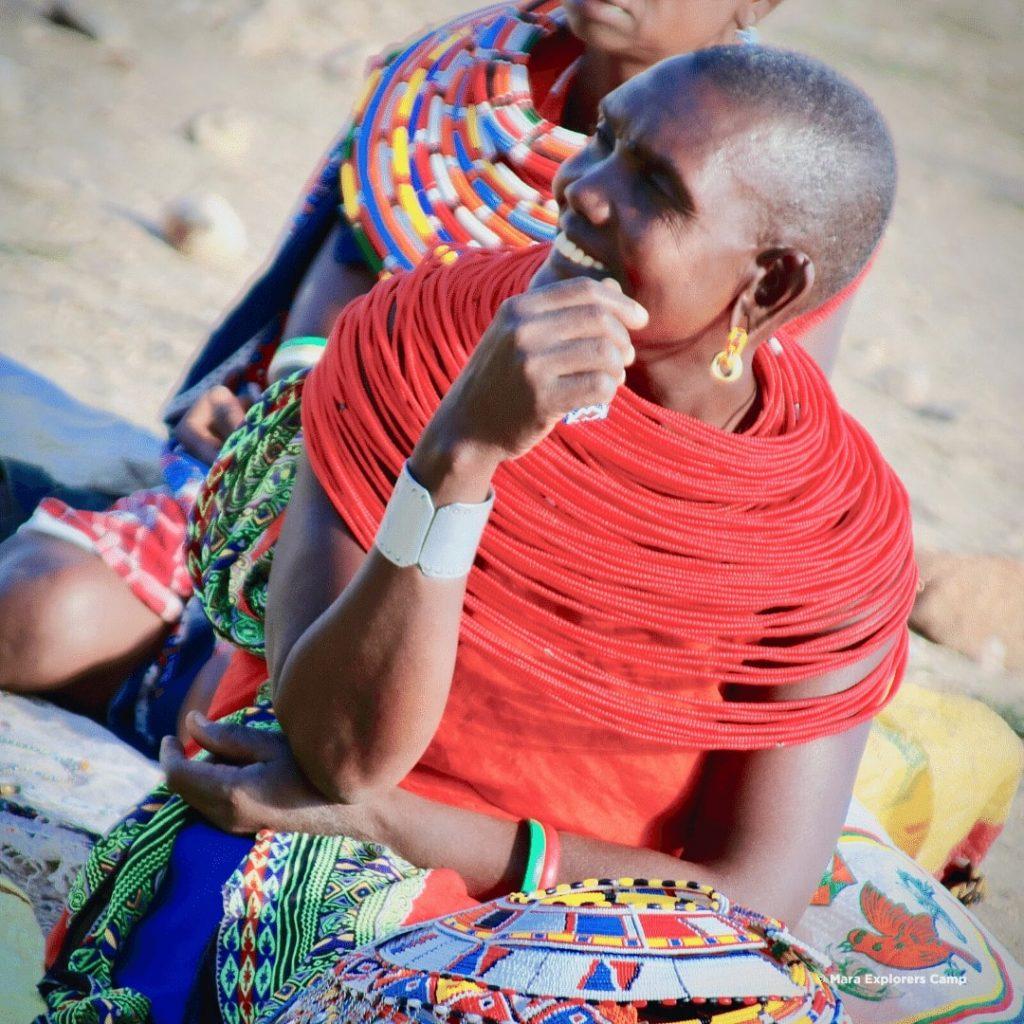 Samburu Volk Frauen