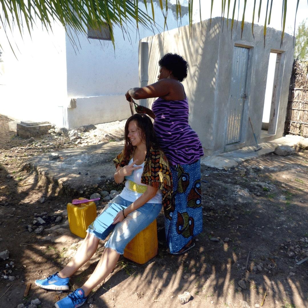 Stephanie auf Sansibar