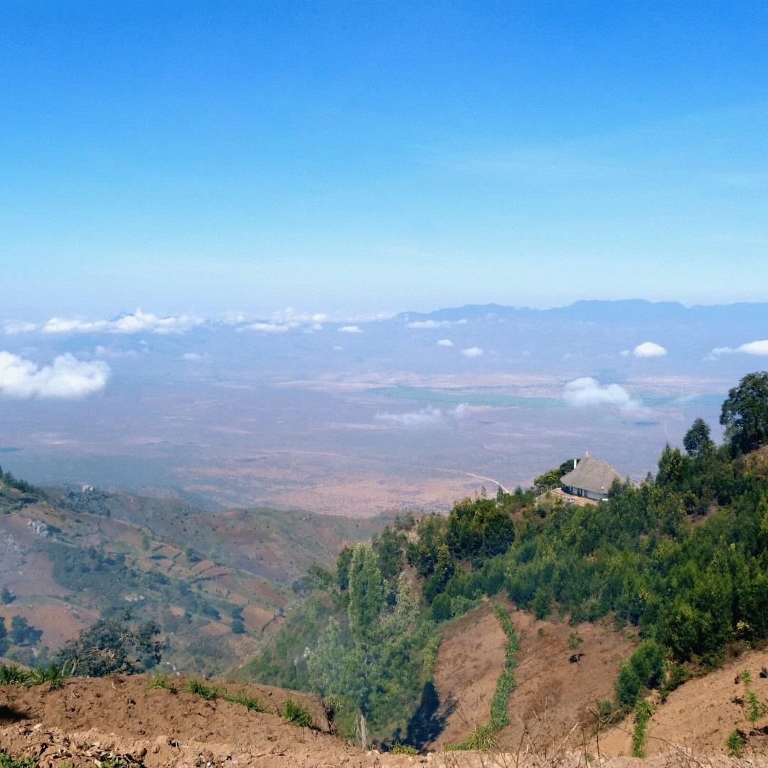 Usambara Berge Aussicht