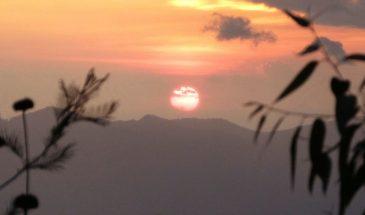 Usambara Berge Sonnenuntergang